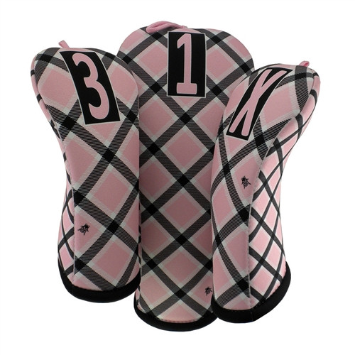 BeeJo's - Cotton Candy Plaid Golf