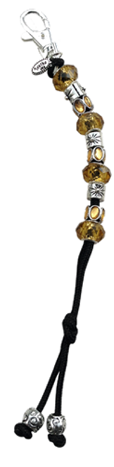 Navika Crystal Mantra Bead Golf Stroke Counter - Yellow*