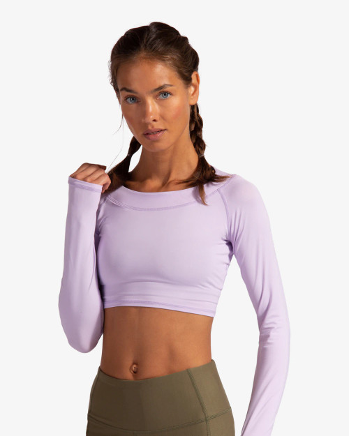 BloqUV: Women's UPF 50 Crop Top (4001)