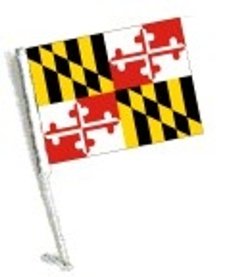 SSP Flags: Car Flag with Pole - State of Maryland