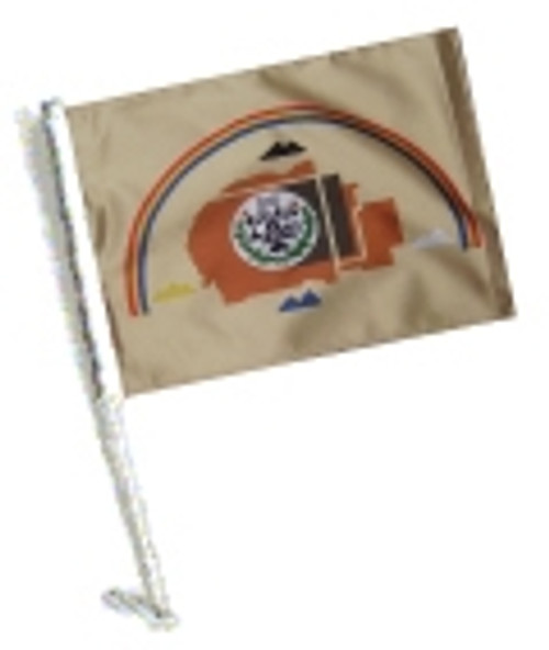 SSP Flags: Car Flag with Pole - Navajo Nation