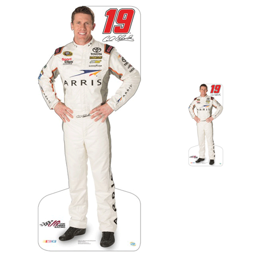Team Image: Lifesize & Miniature Cardboard Cutout Combo - Carl Edwards 2015 #19 Arris