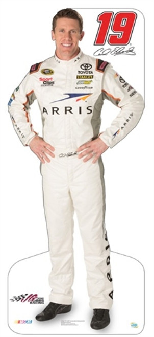 Team Image: Miniature Cardboard Cutout - Carl Edwards 2015 #19 Arris