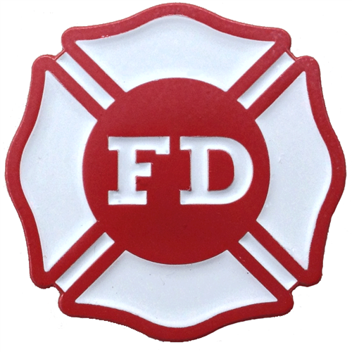 ReadyGolf: Fire Department Ball Marker & Hat Clip