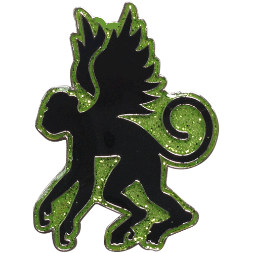 ReadyGolf: Oz Collection - Flying Monkey Ball Marker & Hat Clip