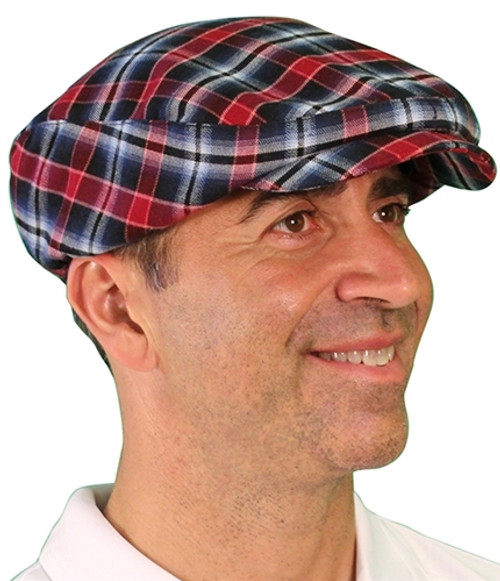 Golf Knickers: Men's 'Par 5' Limited Plaid Golf Cap