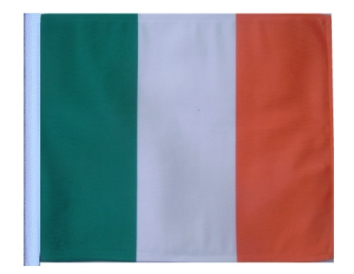 SSP Flags: 11x15 inch Golf Cart Replacement Flag - Ireland