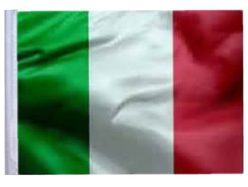 SSP Flags: 11x15 inch Golf Cart Replacement Flag - Italy