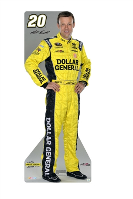 Team Image: Miniature Cardboard Cutout - Matt Kenseth #20 Dollar General