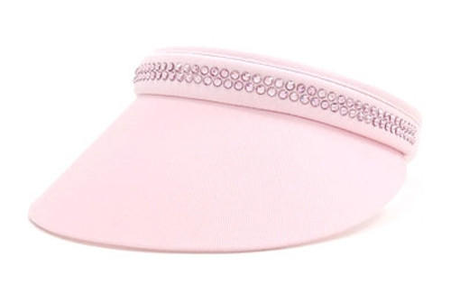 Dolly Mama Maddie Small Clip on Visor with Swarovski Crystals