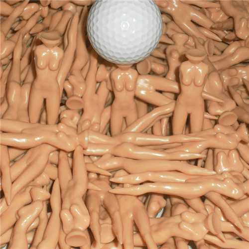 Naked Lady Golf Tees (12 Pack)