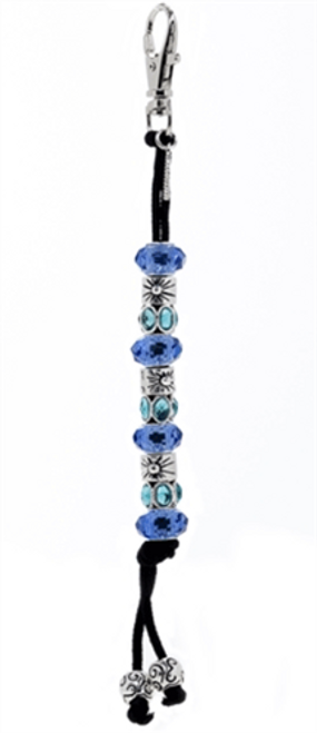 Navika Crystal Mantra Bead Golf Stroke Counter - Blue*