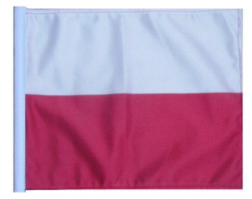SSP Flags: 11x15 inch Golf Cart Replacement Flag - Poland