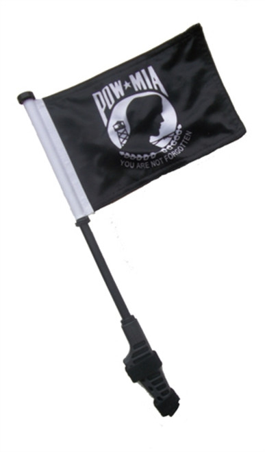 Handicap Small 6x9 inch Golf Cart Flag with EZ On/Off Pole
