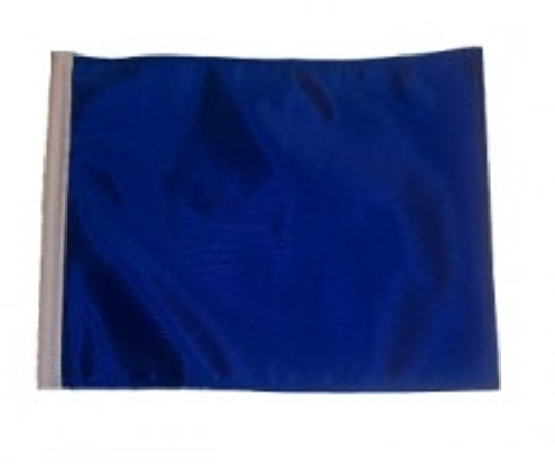 SSP Flags: 11x15 inch Golf Cart Replacement Flag - Blue
