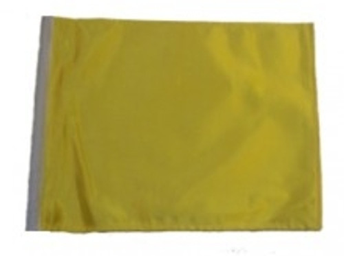 SSP Flags: 11x15 inch Golf Cart Replacement Flag - Yellow