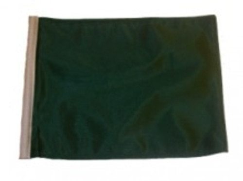 SSP Flags: 11x15 inch Golf Cart Replacement Flag - Green
