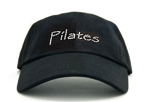 Dolly Mama Ladies Baseball Hat - Pilates on Black