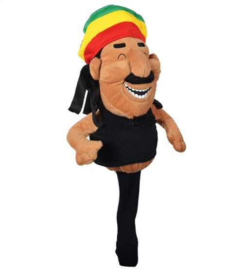 Creative Covers: Rasta Man Golf Club Headcover