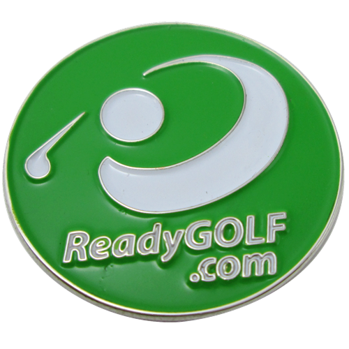 ReadyGolf: Logoed Golf Ball Marker & Hat Clip