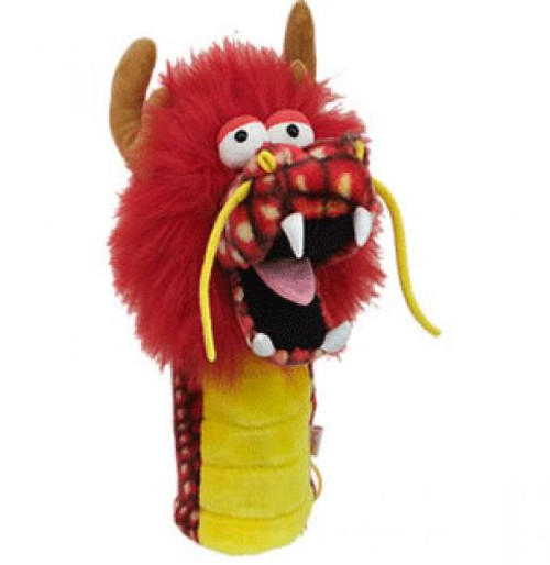 Daphne's HeadCovers: Dragon (Red) Golf Club Cover