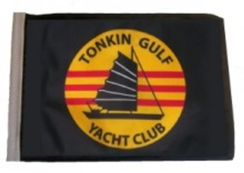 SSP Flags: 11x15 inch Golf Cart Replacement Flag - Tonkin Gulf Yacht Club