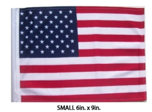 SSP Flags: 6x9 inch Golf Cart Replacement Flag - USA