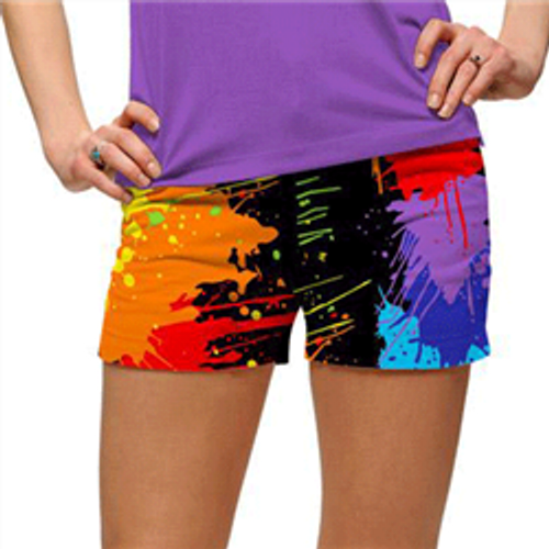 Loudmouth Golf: Women's Mini Shorts - Paint Balls*