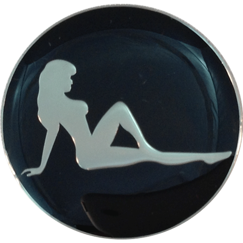 Mudflap Girl Ball Marker & Hat Clip
