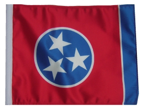 SSP Flags: 11x15 inch Golf Cart Replacement Flag - Tennessee