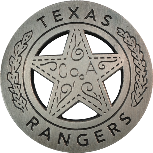 ReadyGolf: Texas Rangers Badge Ball Marker & Hat Clip