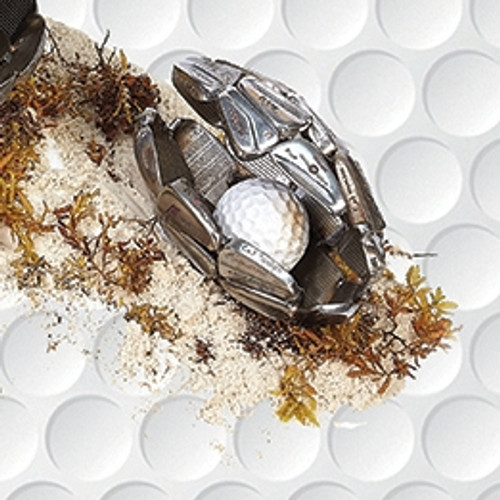 On Tour Golf: Golf Club Sculpture - Small Clam Shell - SALE