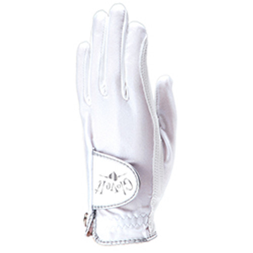 Glove It: Golf Glove - White Clear Dot