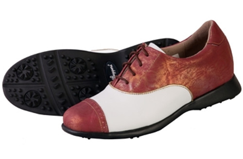 Sandbaggers: Women's Golf Shoes - Audrey Cabernet