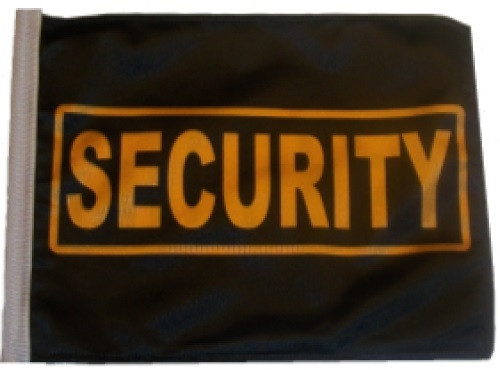 SSP Flags: 11x15 inch Golf Cart Replacement Flag - Security