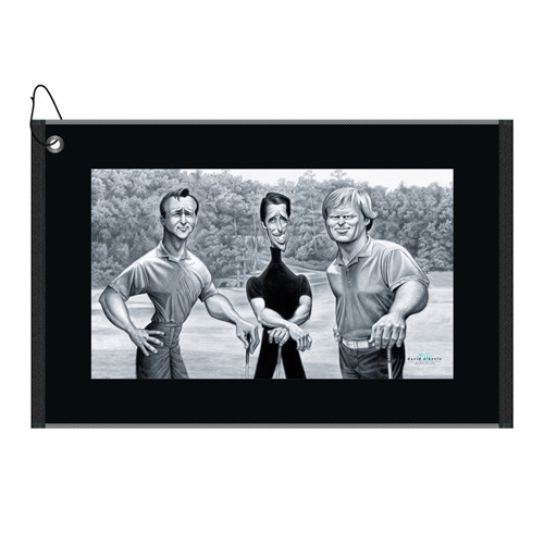 David O'Keefe - The Big Three Golf Towel (Arnie, Gary & Jack)
