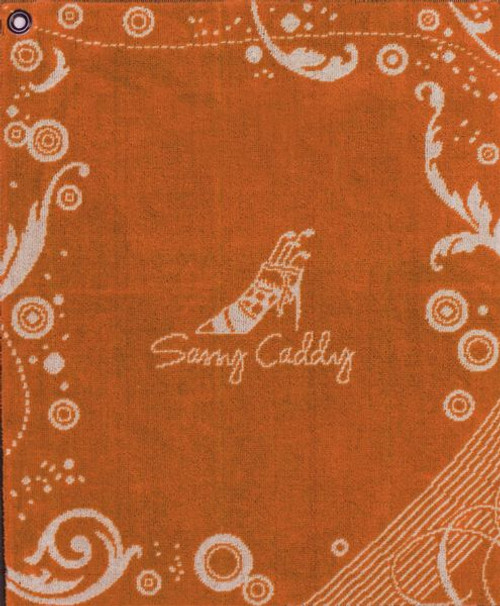 Sassy Caddy: Golf Towel - Orange