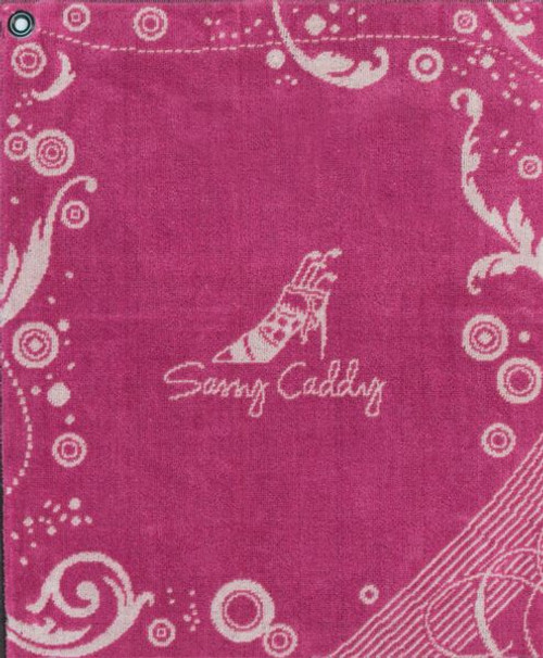 Sassy Caddy: Golf Towel - Pink