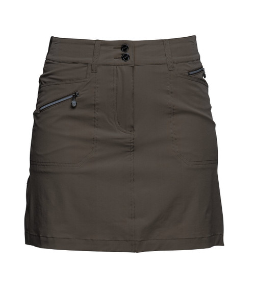 """Daily Sports Womens Skort - Miracle (17 3/4"""") Taupe Size 4 - SALE"""