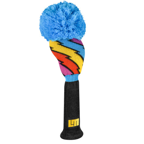 Just 4 Golf: Loudmouth Driver Headcover - Captain Thunderbolt