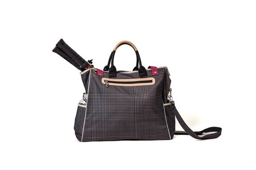 Sassy Caddy: Tennis Tote Bag- Notting Hill