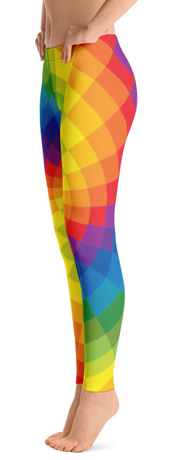 995314f97 ReadyGOLF Womens All-Over Leggings - Tie Dye