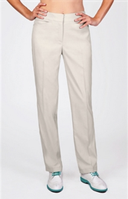 Tail Activewear Golf Essentials Collection - Womens Classic Tan Chino Pant - Size 2 - SALE