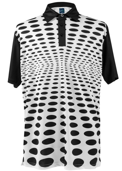 Holey Polo Mens Golf Polo Shirt by ReadyGOLF