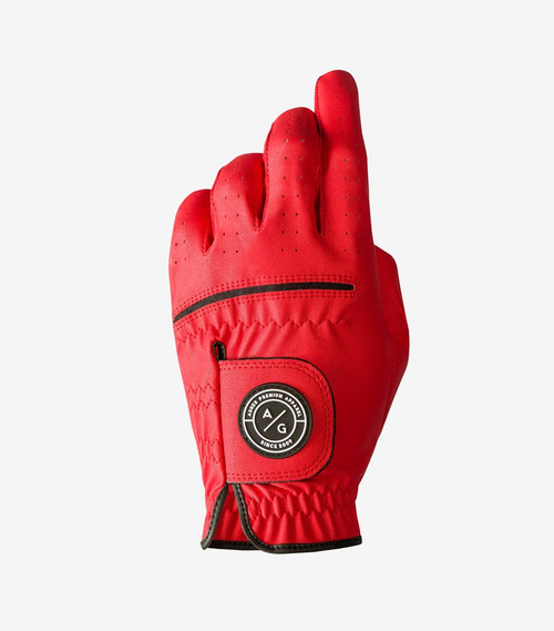Asher Golf: Chuck 2.0 Golf Glove - Red