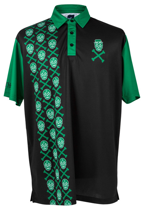 Irish to the Bone Mens Golf Polo Shirt by ReadyGOLF