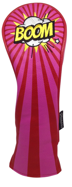ReadyGolf: Embroidered Hybrid Headcover - BOOM!