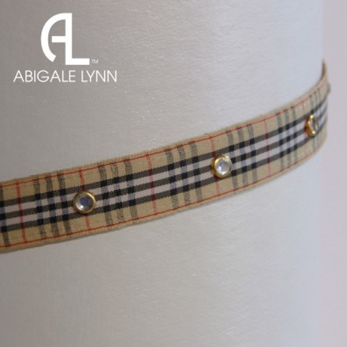 Abigale Lynn Visor Band - Madison Avenue Plaid