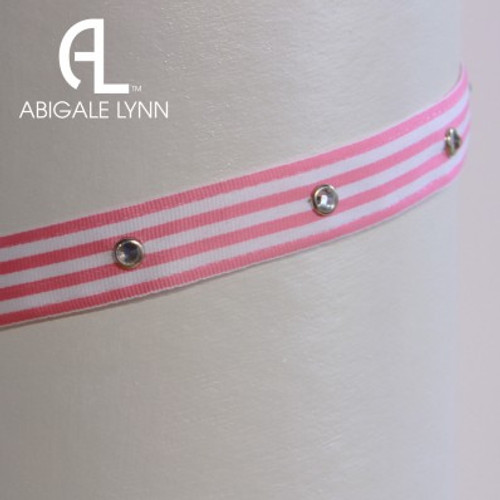 Abigale Lynn Visor Band - Candy Stripe