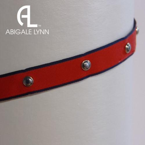 Abigale Lynn Visor Band - Polo Stripe 1